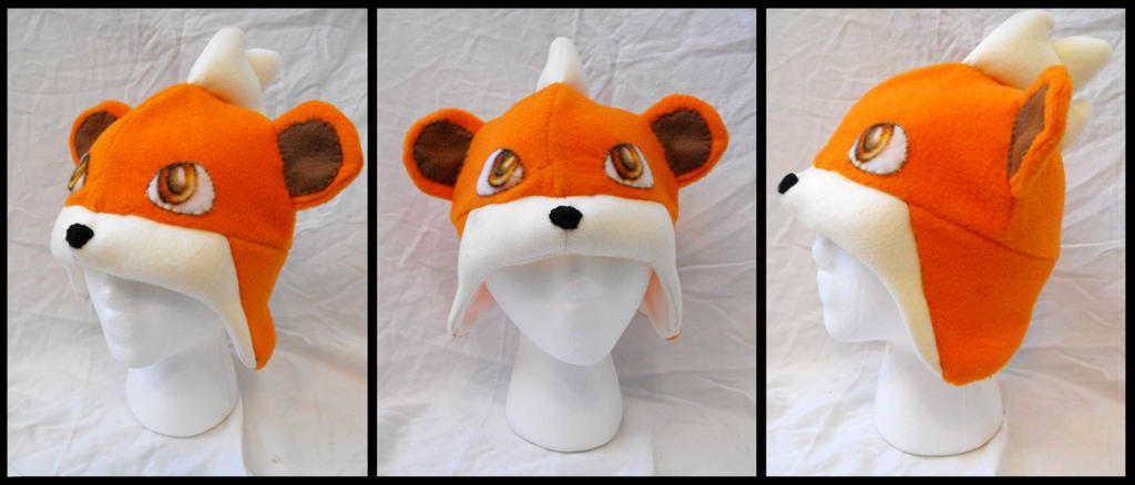 Growlithe Hat - Commission by CosmicalFox