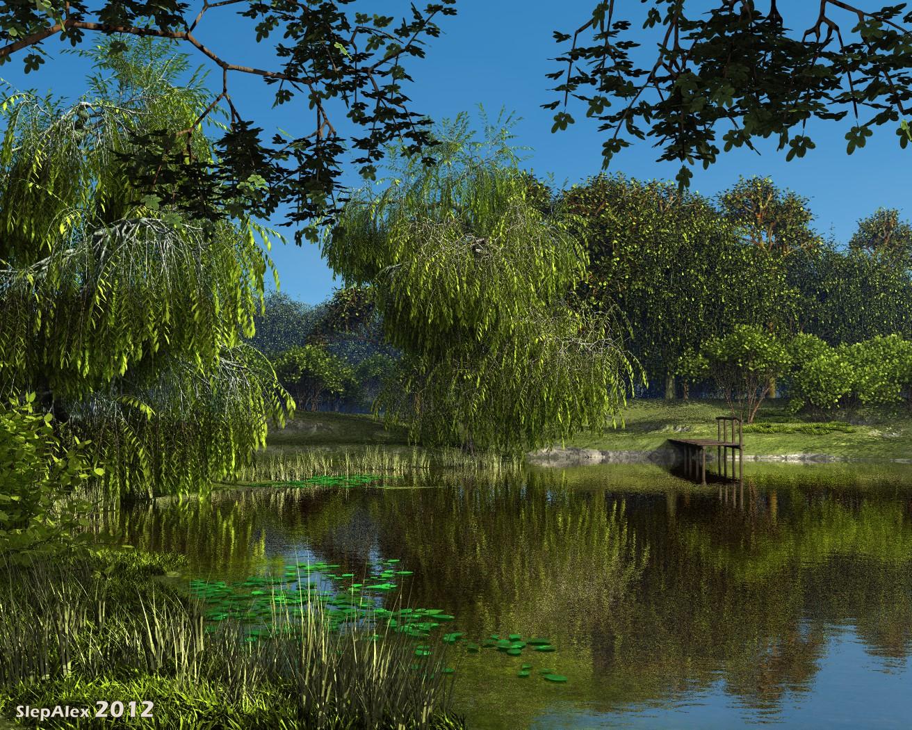 Old pond by slepalex