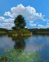 Islet by slepalex