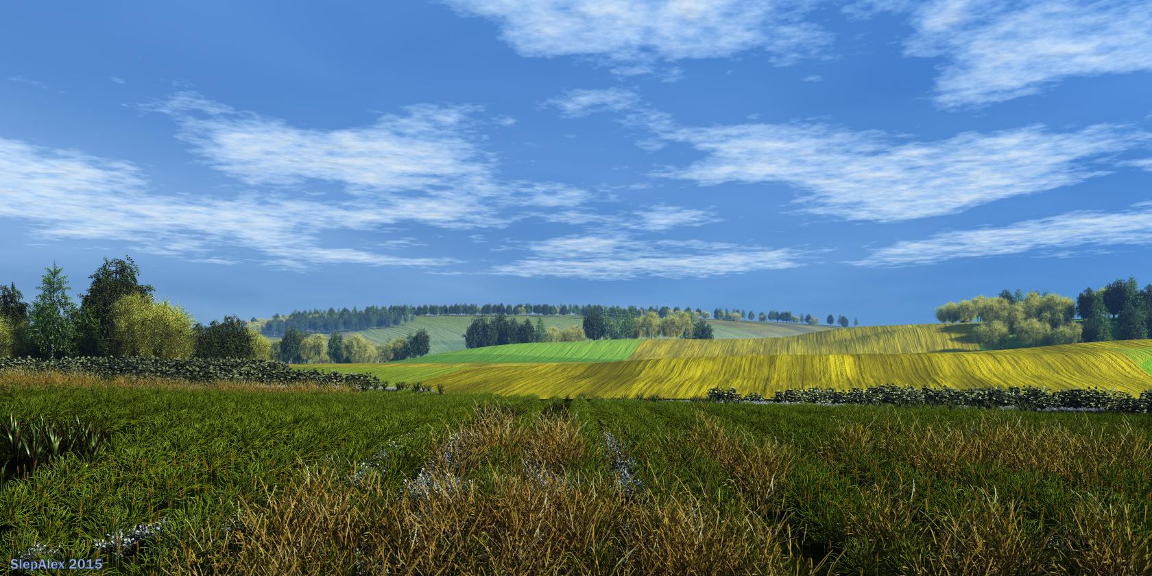 Fields endless by slepalex
