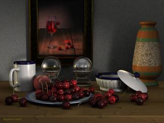 Cherries from my garden by slepalex