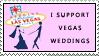 I Support Vegas Weddings Stamp by stampsbyjesper