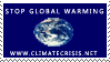 Climate Crisis Stamp by stampsbyjesper