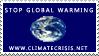 Climate Crisis Stamp by stampsbyjesper