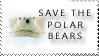 save the polar bears by stampsbyjesper