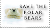 save the polar bears by stampsbyjesper