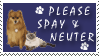 Spay And Neuter Stamp by stampsbyjesper