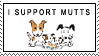 Mutts Stamp by stampsbyjesper
