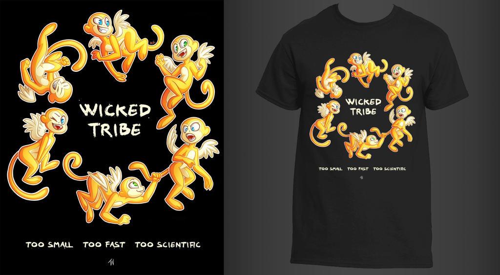 Wicked Tribe T-Shirt by MarzKartoons