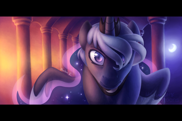 Moonrise by AphelionMars