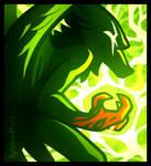 Huevember 5 - Green by AphelionMars