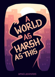 A World as Harsh as This - Cover
