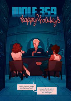 Wolf 359 - Happy Holidays - 1
