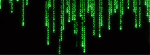 Matrix style Facebook cover image