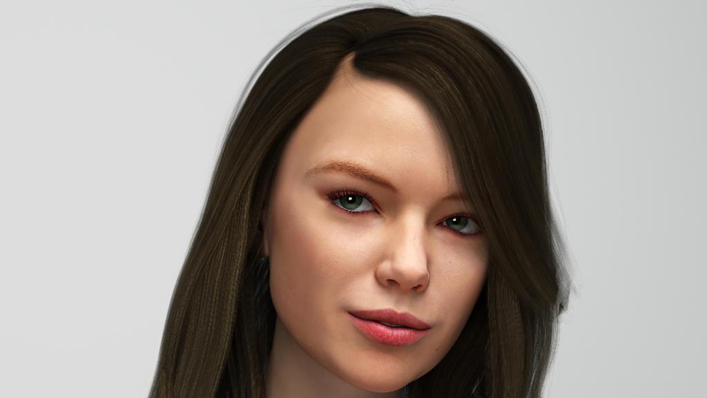 Portrait Jolina by wotowoto
