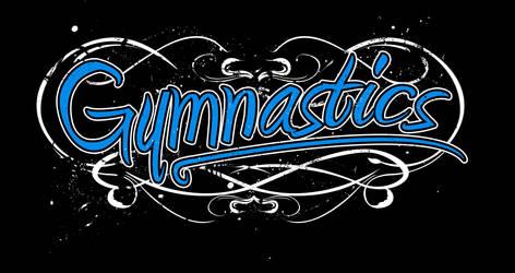 T-Shirt Design: Gymnastics by EternalSoulStudios
