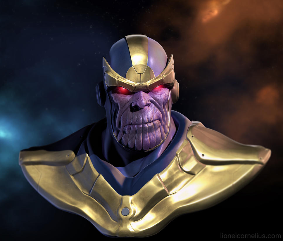 Thanos revisit by LjSketch