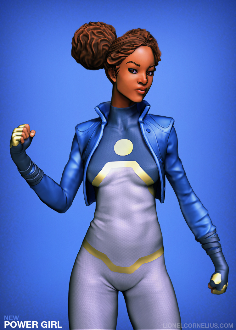 new Power Girl - Tanya Spears 1 by LjSketch