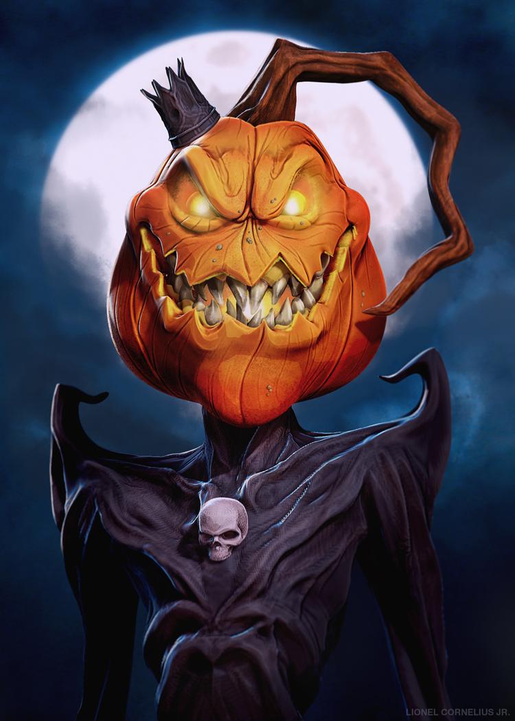 King Pumpkin by LjSketch