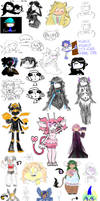 2019 Sketches and Doodles