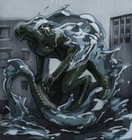 Endbringer: Leviathan (Worm) by Beru-bera