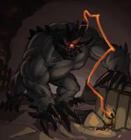 Endbringer: Behemoth (Worm) by Beru-bera