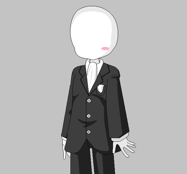 Chibi Slenderman by Yaoi0Yuri0rules