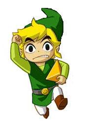 Runnig Toon Link