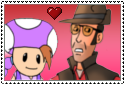ChiquitaXREDSniper stamp by Aso-Designer