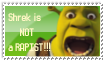 Shrek is not a rapist stamp by Aso-Designer