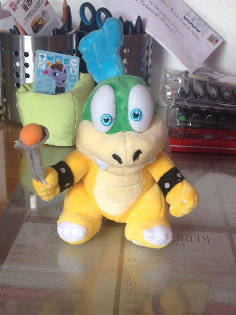larry koopa plush by aso designer on deviantart
