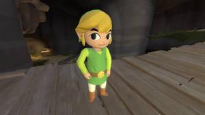 (SFM) Toon Link, hero of the wind
