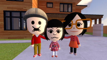 (SFM) Family photo by Aso-Designer