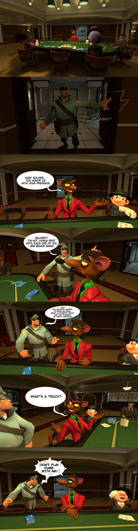 [Gmod comic]  Pinstripe's business