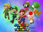 Mario and Friends 10th anniversary