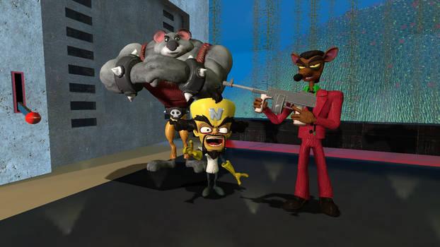 Cortex' bodyguards