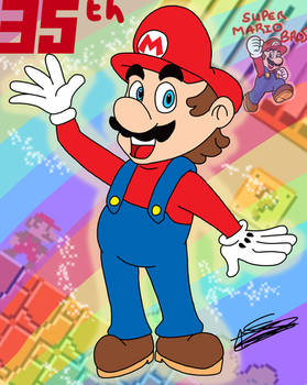 A Super Birthday for a Super Mario