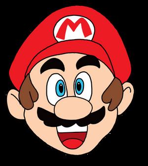 The Classic Mario head