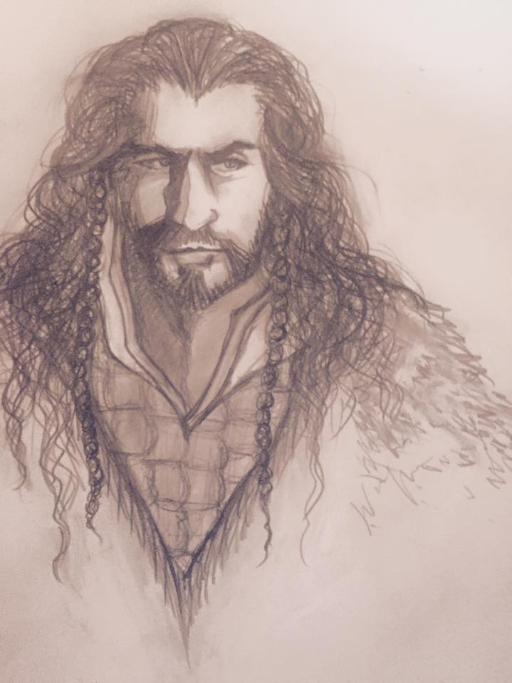 Thorin Oakenshield Quick Sketch by xXPharaohKissesXx