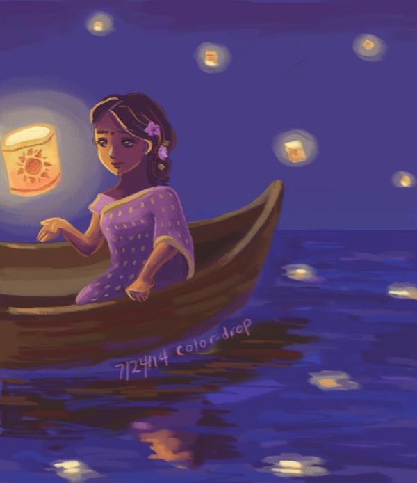 Disney Racebend 2- Rapunzel by Artzykat