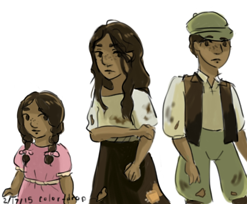 Eponine's transformation by Artzykat