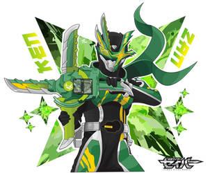 Kamen Rider Kenzan by ATNART19