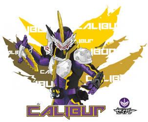 Kamen Rider Calibur by ATNART19