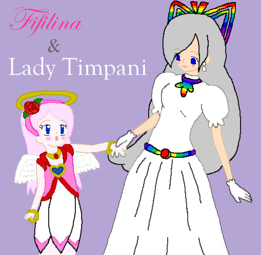 Fifilina and Lady Timpani by dannichangirl on DeviantArt