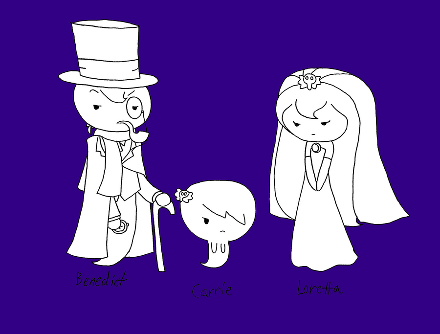 TAWoG: Carrie and her Parents by dannichangirl