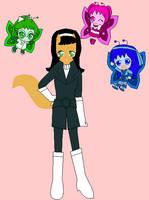 Manga Kitty and the Fluttertuffs by dannichangirl