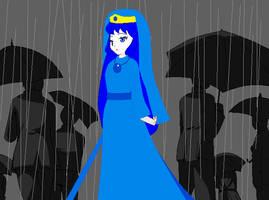 Homestuck AU - Danni in the Rain by dannichangirl