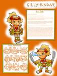 Care Bear Villains - Gilly-Knave Info Sheet by dannichangirl