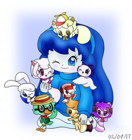 2017 02 18 Dannirella and the Mini Pets by dannichangirl