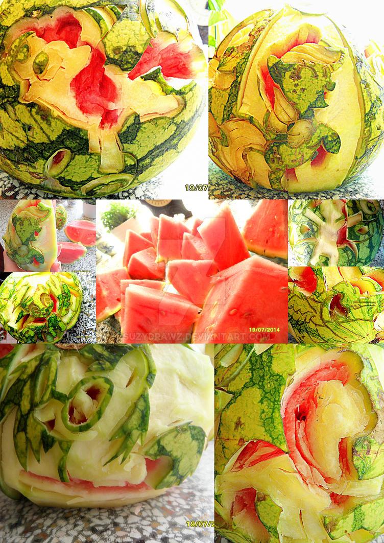 MLPFiM Watermelon by SuzyDrawz